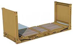 Dimensioni Container 20_FlatRack