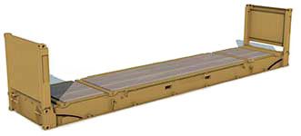 Dimensioni Container 40_FlatRack
