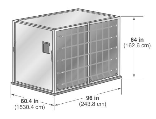 ALP rectangular container